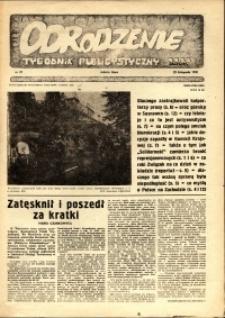 """Odrodzenie : tygodnik publicystyczny NSZZ """"Solidarność"""", 1981, nr 21"""