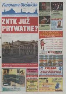 Panorama Oleśnicka: tygodnik Ziemi Oleśnickiej, 2001, nr 93 (655)