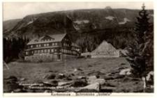 Karkonosze - Schronisko im. Bronka Czecha/ Schlingelbaude 1067 m. ü. M. [Dokument ikonograficzny]