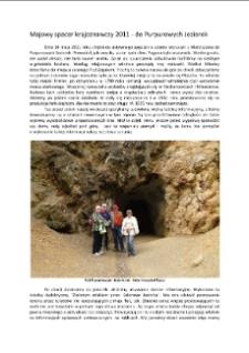 Majowy spacer krajoznawczy 2011 - do Purpurowych Jeziorek [Dokument elektroniczny]