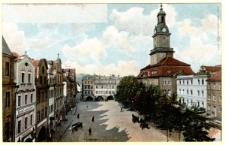 Hirschberg. Marktlauben und Rathaus [Dokument ikonograficzny]