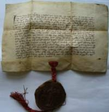 Dokument księcia Henryka Jaworskiego dotyczący sprzedaży dóbr w Jeleniej Górze