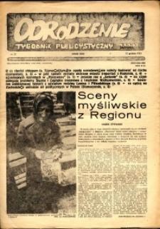 """Odrodzenie : tygodnik publicystyczny NSZZ """"Solidarność"""", 1981, nr 23"""
