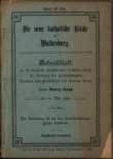 Die neue katolische Kirche in Waldenburg : Gedenkblatt an die feierliche Konsekration derselben durch Se. Eminenz den hochwürdigsten Kardinal und fürstbischofs von Breslau Herrn Georg Kopp am 14. Mai 1904.