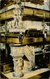 Jelenia Góra - kościół pw. Podwyższenia Świętego Krzyża (wnętrze) [Dokument ikonograficzny]