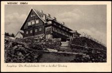 Isergebirge. Die Heufuderbaude 1107 m bei Bad Flinsberg [Dokument ikonograficzny]