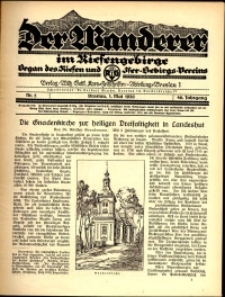 Der Wanderer im Riesengebirge, 1926, nr 5