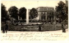 Hirschberg i. Schles. Der Schützenplatz [Dokument ikonograficzny]