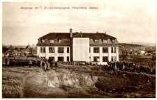 Kaserne der I. Ersatz-Kompagnie, Hirschberg, Schles. [Dokument ikonograficzny]