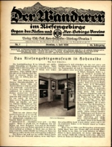Der Wanderer im Riesengebirge, 1926, nr 7
