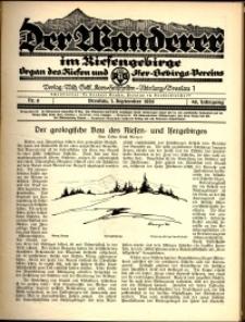 Der Wanderer im Riesengebirge, 1926, nr 9