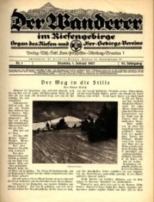 Der Wanderer im Riesengebirge, 1927, nr 1