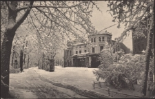 Winter in Hirschberg i. Schl. Am Konzerthaus [Dokument ikonograficzny]
