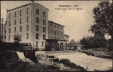Hirschberg i. Schl. G. Borrmann, Nieder-Mühle [Dokument ikonograficzny]