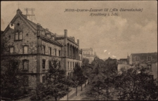 Militär-Reserve-Lazarett III (Alte Oberrealschule) Hirschberg i. Schl. [Dokument ikonograficzny]