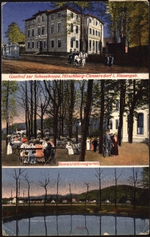 Gasthof zur Schneekoppe, Hirschberg-Cunnersdorf i. Riesengeb. [Dokument ikonograficzny]