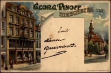 Georg Pinoff. Hirschberg Schles. [Dokument ikonograficzny]