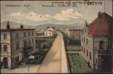 Cunnersdorf i. Rsgb. Warmbrunner- u. Friedrichstr.-Ecke. [Dokument ikonograficzny]