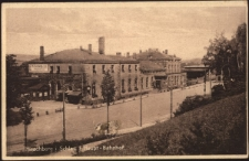 Hirschberg i. Schles. - Haupt - Bahnhof. [Dokument ikonograficzny]