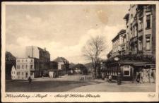 Hirschberg i. Rsgb. - Adolf-Hitler-Strasse [Dokument ikonograficzny]