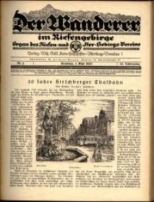 Der Wanderer im Riesengebirge, 1927, nr 5