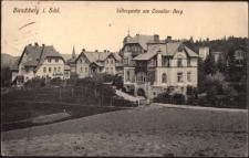 Hirschberg i Schl. Villenpartie am Cavalier-Berg [Dokument ikonograficzny]