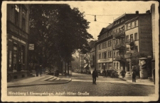 Hirschberg i. Riesengebirge. Adolf-Hitler-Strasse [Dokument ikonograficzny]