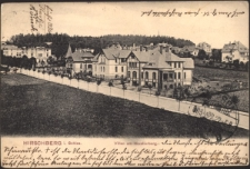 Hirschberg i. Schles. Villen am Kavalierberg. [Dokument ikonograficzny]