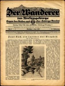 Der Wanderer im Riesengebirge, 1927, nr 6