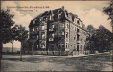 Pension Sänberlich, Hirschberg i. Schl. Bergstrasse 7 a [Dokument ikonograficzny]