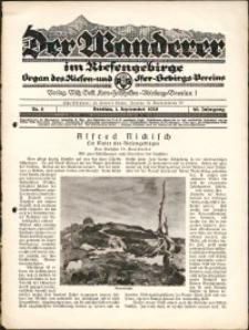 Der Wanderer im Riesengebirge, 1929, nr 9