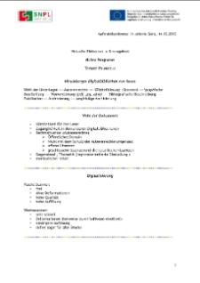 dLibra Programm [Dokument elektroniczny]