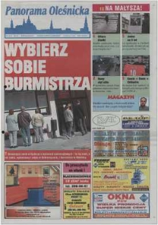 Panorama Oleśnicka: tygodnik Ziemi Oleśnickiej, 2002, nr 7 (672)