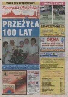 Panorama Oleśnicka: tygodnik Ziemi Oleśnickiej, 2002, nr 66 (731)