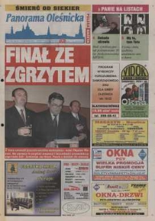 Panorama Oleśnicka: tygodnik Ziemi Oleśnickiej, 2002, nr 81 (746)