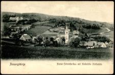 Riesengebirge Nieder-Schreiberhau mit Heilstätte Moltkefels [Dokument ikonograficzny]
