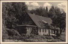 """Gefolgschaftshaus """"Kurheim Schönblick"""" d. Land.-Vers.-Anst. Schlesien Ober-Schreiberhau i. Rsgb. [Dokument ikonograficzny]"""
