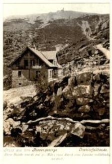 Karkonosze - schronisko Einkehr Haus w Dolinie Łomniczki [Dokument ikonograficzny]