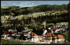 Schreiberhau. Das Weissbachtal mit Hochstein und Sanatoriums [Dokument ikonograficzny]