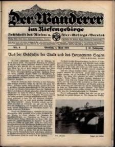 Der Wanderer im Riesengebirge, 1931, nr 6