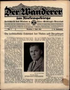 Der Wanderer im Riesengebirge, 1931, nr 7