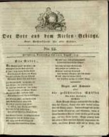 Der Bote aus dem Riesen-Gebirge : eine Wochenschrift für alle Stände, R. 1, 1813, nr 32
