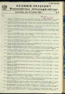 Dziennik Urzędowy Województwa Jeleniogórskiego, 1988, nr 5