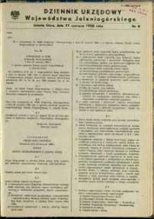 Dziennik Urzędowy Województwa Jeleniogórskiego, 1988, nr 8