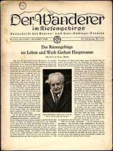 Der Wanderer im Riesengebirge, 1942, nr 11-12