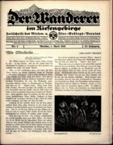 Der Wanderer im Riesengebirge, 1932, nr 4