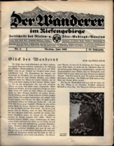 Der Wanderer im Riesengebirge, 1932, nr 6