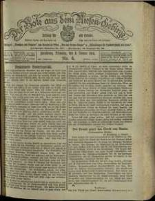 Der Bote aus dem Riesen-Gebirge : Zeitung für alle Stände, R. 102, 1914, nr 4