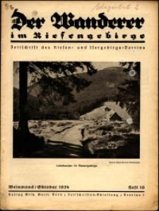 Der Wanderer im Riesengebirge, 1934, nr 10