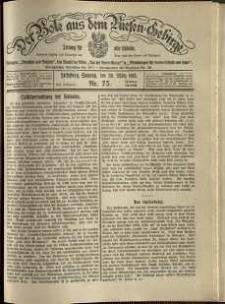 Der Bote aus dem Riesen-Gebirge : Zeitung für alle Stände, R. 102, 1914, nr 75